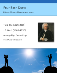 Four Bach Duets