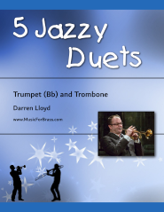 5 Jazzy Duets for Trumpet and Trombone