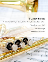 5 Jazzy Duets for Trumpet