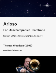 Arioso for Unaccompanied Trombone