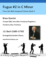 Fugue #2 in C Minor