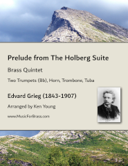 Prelude from The Holberg Suite