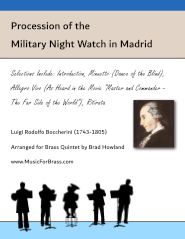 Military Night Watch in Madrid