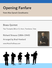 Opening Fanfare from Also Sprach Zarathustra