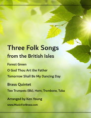 Three Folk Songs from the British Isles